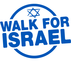 walk for israel logo